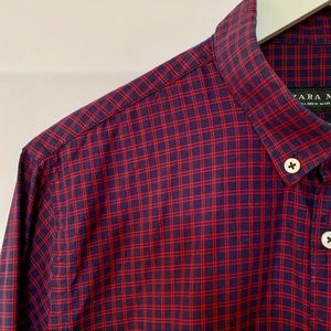 🌸2 FOR $40✨Men's Textured Dress Shirt